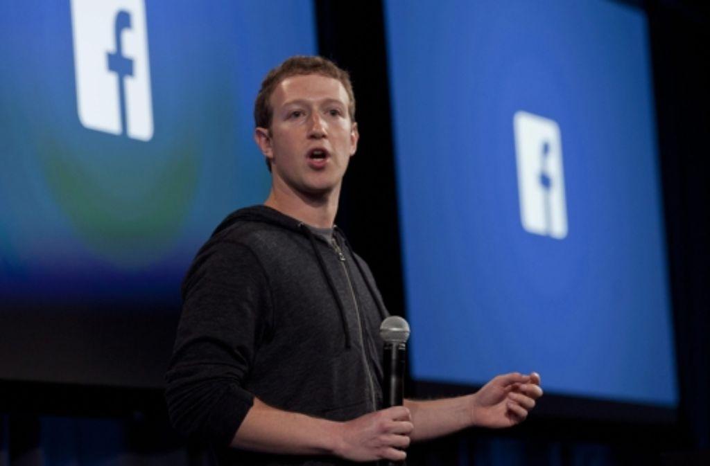 Mark Zuckerberg, der Facebook-Erfinder, steht für den Typ Visionär, die für die große Sache Opfer von ihren Mitarbeitern fordern. Foto: