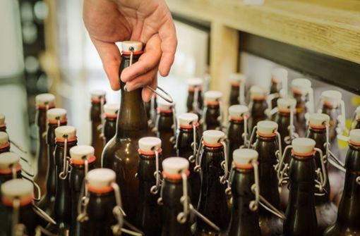 Selbst  die kleinen Bierbrauer  leiden unter Corona