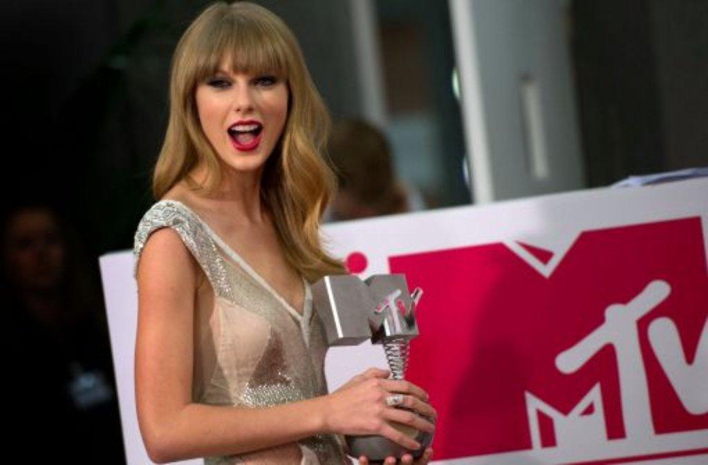 US-Sängerin Taylor Swift Foto: dapd