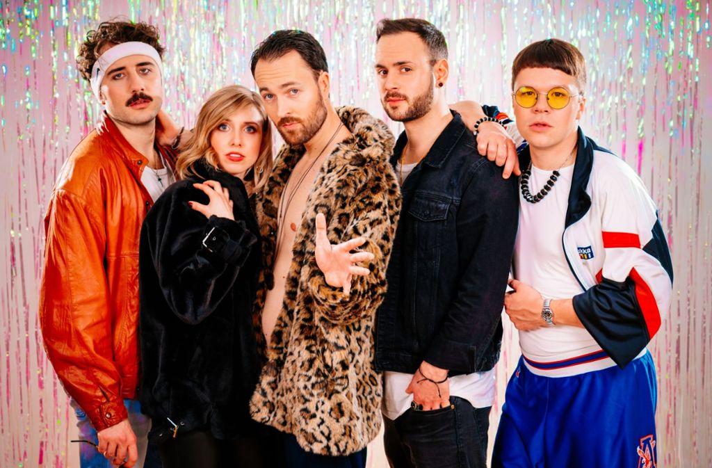 Dia eröffnen das Sommerfestival Klinke im Merlin Stuttgart mit sexy Popmusik. Das restliche Line-Up zeigen wir in der  Fotostrecke. Foto: Promo