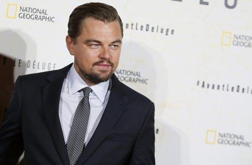 Leonardo Dicaprio kämpft gegen den Klimawandel