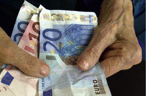 Renten sollen 2018 um mehr als  drei Prozent steigen
