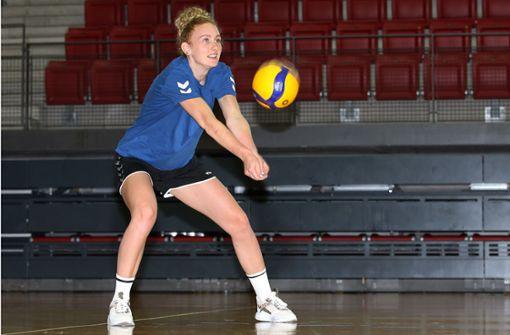 Volleyballerin Lena Große Scharmann will in der Bundesliga vorangehen