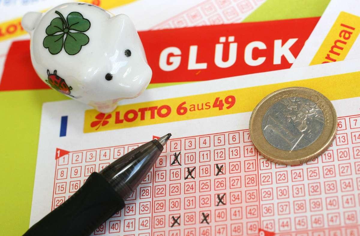 Lottogewinner im Kreis Esslingen (Symbolbild) Foto: imago images