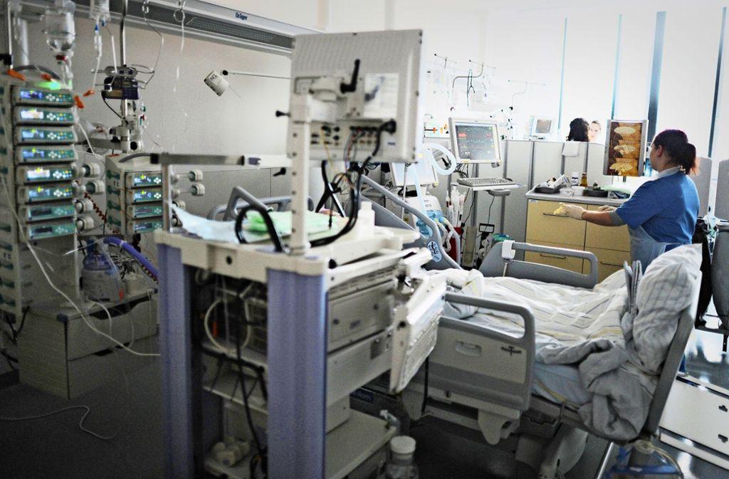 Die Situation  in einem Akutkrankenhaus ist für viele abschreckend. Foto: dpa