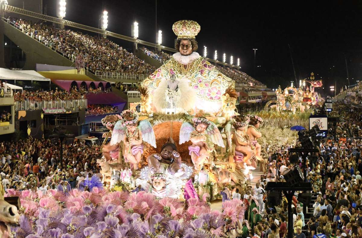 Coronabedingt wird es im kommenden Februar keinen Karneval in Rio de Janeiro geben. Foto: dpa/Fabio Teixeira
