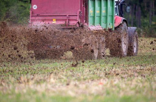 Entlastung für Bauern in Umwelt-Diskussion