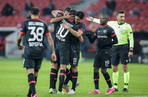 Bayer Leverkusen schon so gut wie weiter