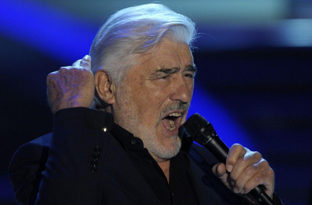 Vital ist er auch mit 88: Mario Adorf, Schauspieler, Sänger, Rezitator Foto: dpa