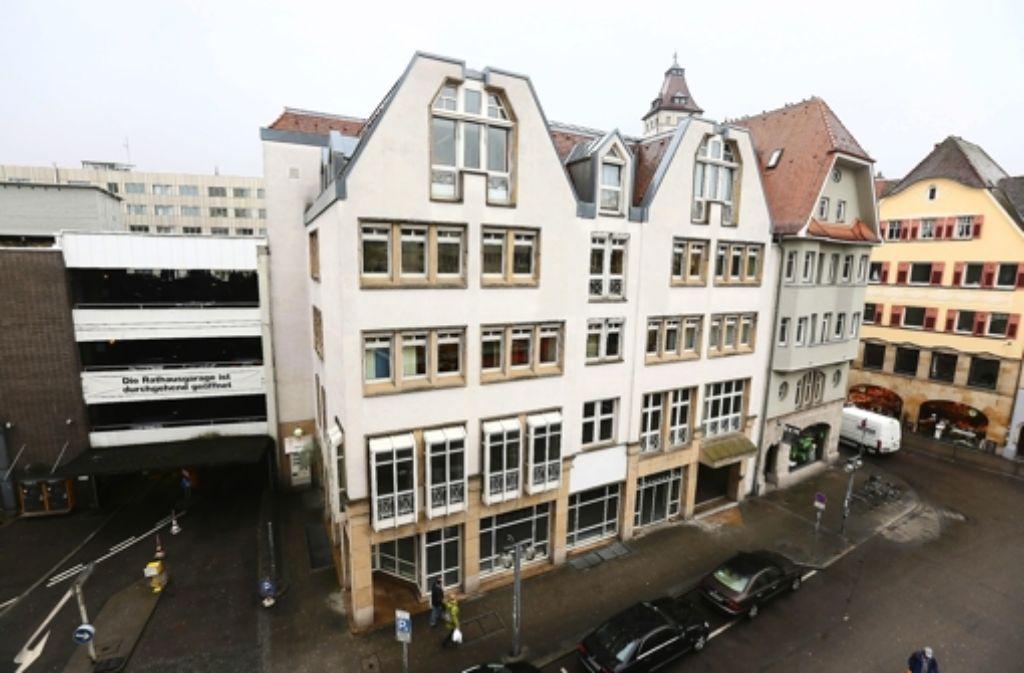 Über den Hinterhof des Rathauses wird seit Jahren diskutiert. Foto: Zweygarth