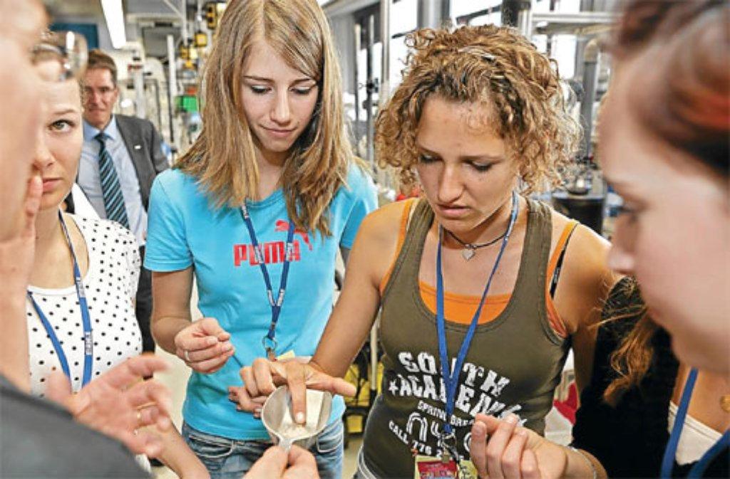 Schülerinnen können beim Girls Day technische Berufe kennenlernen. Foto: JOBbote