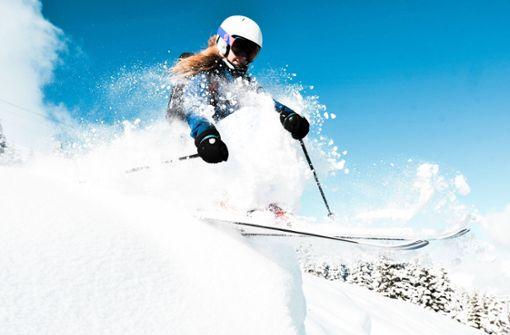 Skifahrer sind wieder die Coolen
