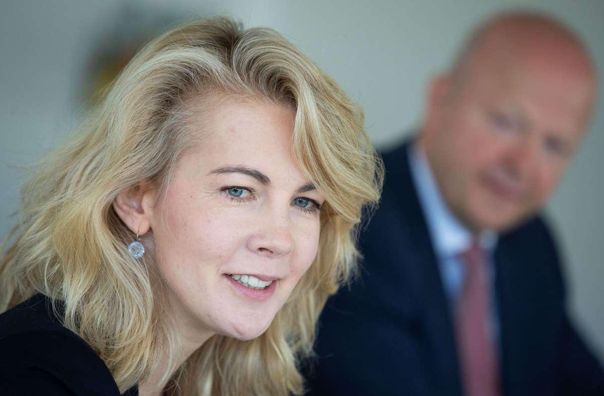 Linda Teuteberg, Generalsekretärin der FDP, äußert sich zu den Plänen der Grünen. Foto: Leif Piechowski/Leif Piechowski