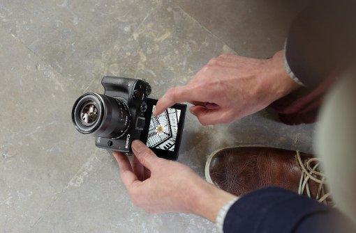 Spiegelreflex- und Videokameras zum Anfassen