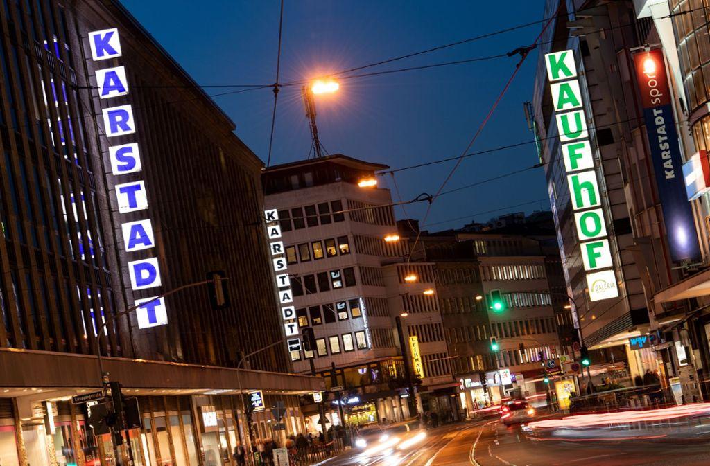 Karstadt und Kaufhof schließen sich zusammen. Foto: dpa