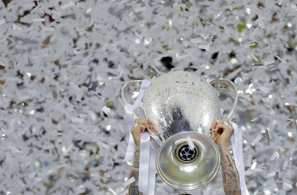 Wo und wann genau das Champions-League-Finale stattfinden soll, ist derzeit noch unklar. Foto: AP/Manu Fernandez