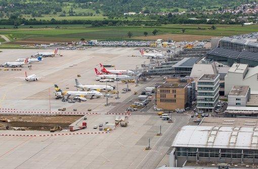 Steigende Passagierzahlen am Stuttgarter Flughafen
