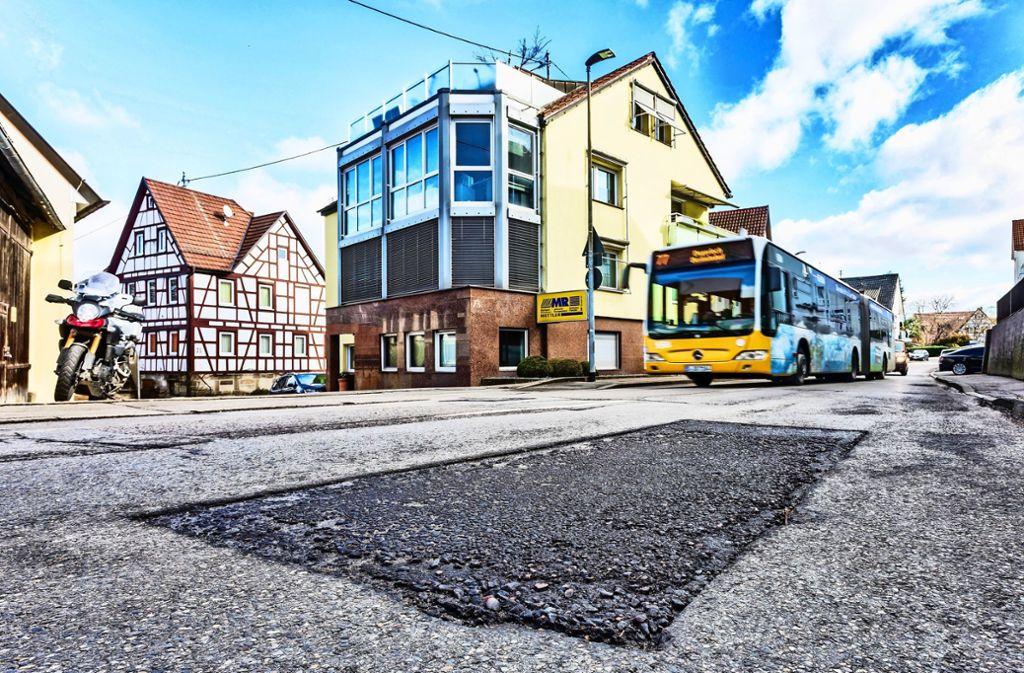 Flickwerk in Stetten Foto: Krämer