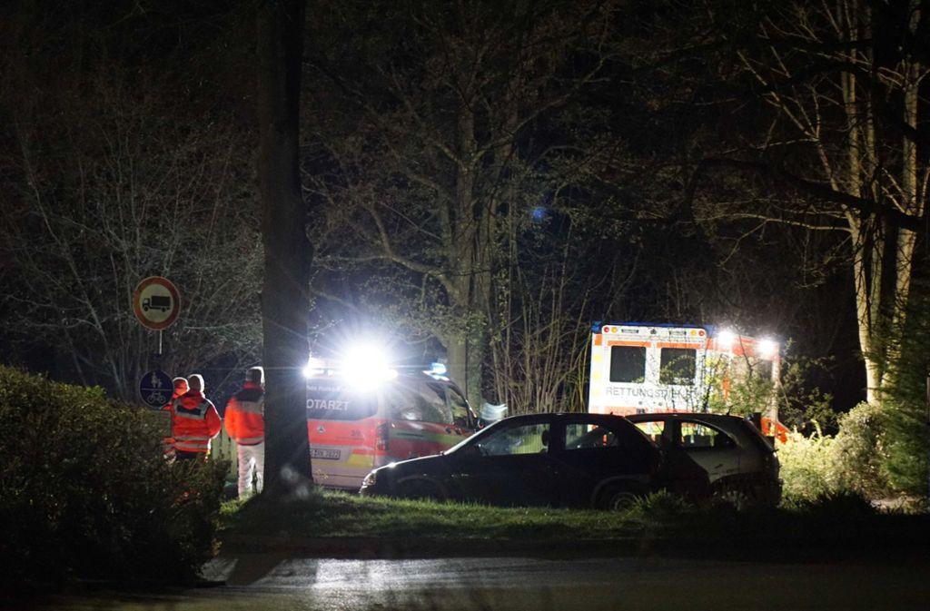 In Filderstadt sind zwei Leichen gefunden worden. Die Polizei ermittelt. Foto: dpa/Kohls