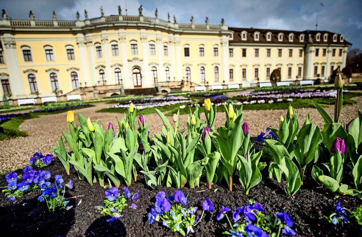Vermutlich über einen Zaun gelangten die Täter auf die Parkanlage in Ludwigsburg (Symbolbild). Foto: dpa/Christoph Schmidt