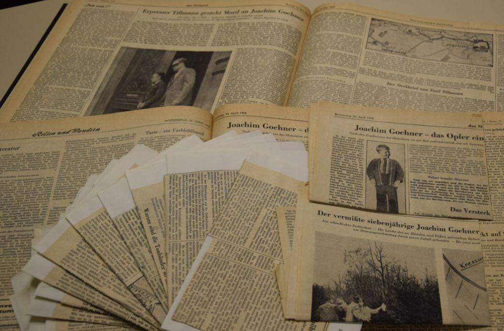 Emil Tillmann entführte im April 1958 den siebenjährigen Joachim Göhner. Die Polizei fasste den Täter. Foto: Alexandra Kratz