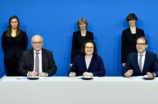 SPD strebt Einigung mit der Union an