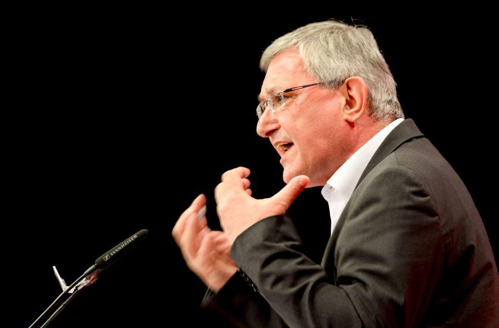 Der Parteichef Bernd Riexinger führt die Südwest-Linken in den Wahlkampf. Foto: dpa-Zentralbild