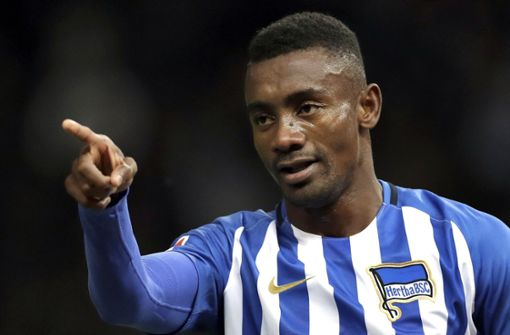 Hertha BSCsuspendiert Salomon Kalou