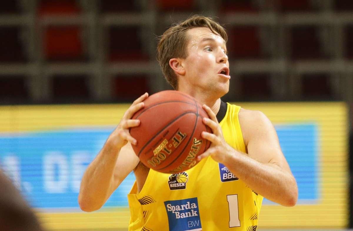 Starker Neuzugang: Jordan Hulls machte 20 Punkte für die Riesen. Foto: Pressefoto Baumann