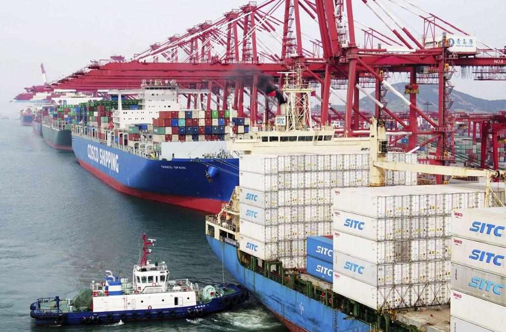 Die USA lenkt beim Handelsstreit mit China etwas ein. Foto: Chinatopix/AP/dpa