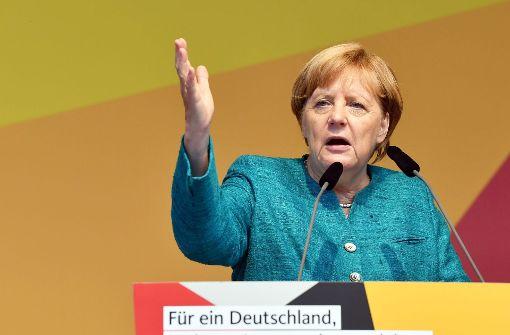 Merkel bei Wahlkampfauftritten beschimpft