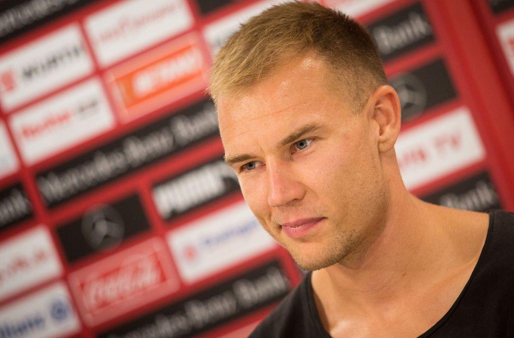 Zurück in Stuttgart: Holger Badstuber bleibt bis 2021 beim VfB – und hat viel vor. Foto: dpa