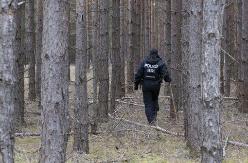 Polizei sucht in Brandenburger See nach Leiche