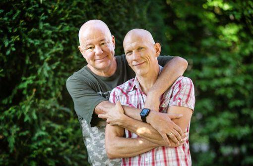 Sie sind das am längsten verheiratete schwule Paar im Land