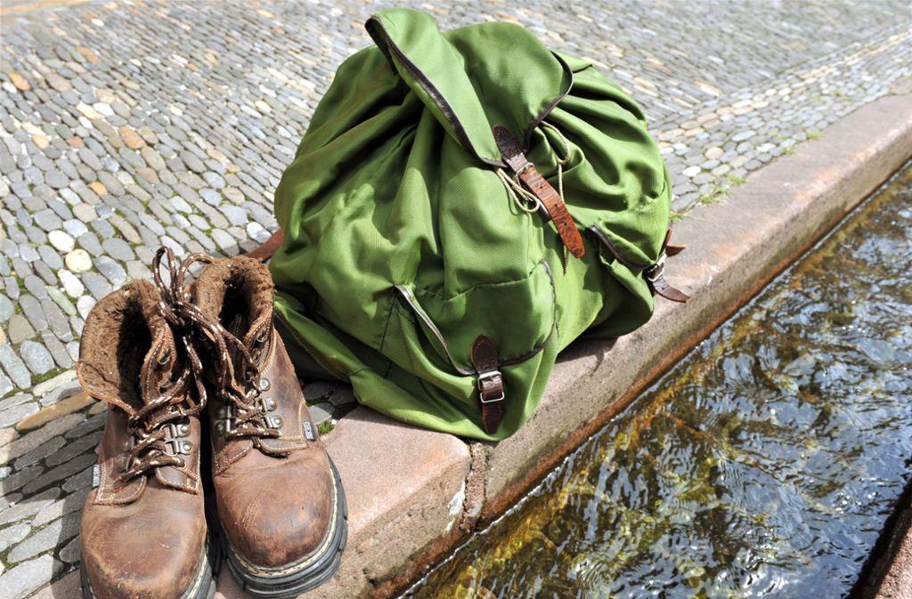 Auf Korika wird ein wanderer vermisst (Symbolbild). Foto: dpa