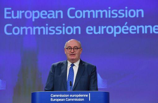 EU-Handelskommissar Phil Hogan tritt zurück