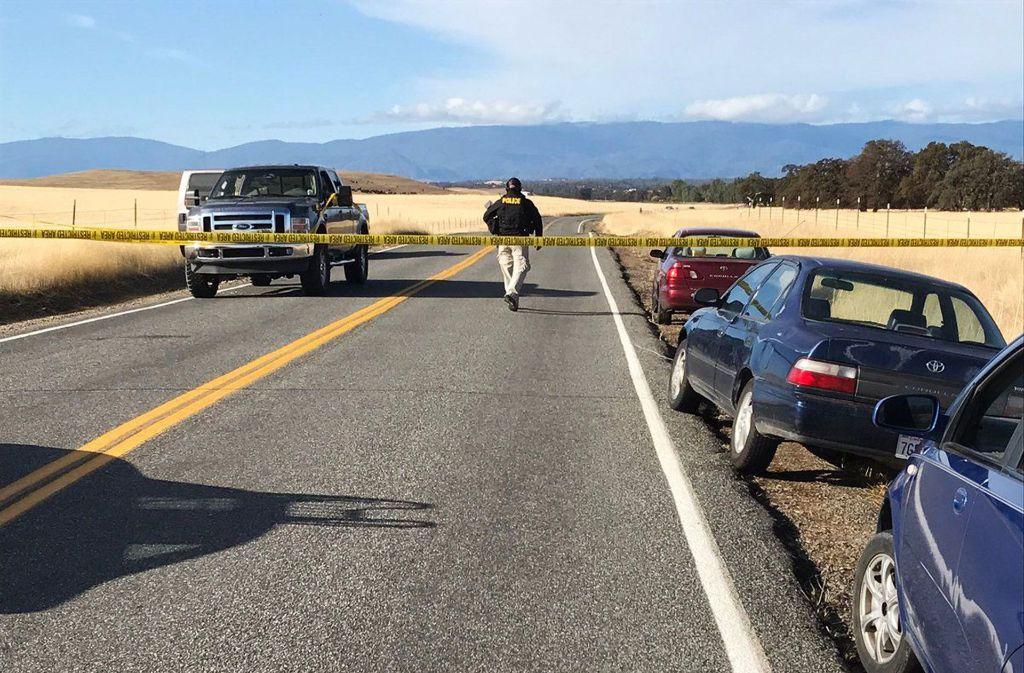Erneut gibt es eine tödliche Schießerei in den USA. Im Norden Kaliforniens tötet ein Schütze vier Menschen. Foto: The Record Searchlight