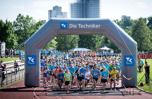 650 Läufer starten beim Campus Run