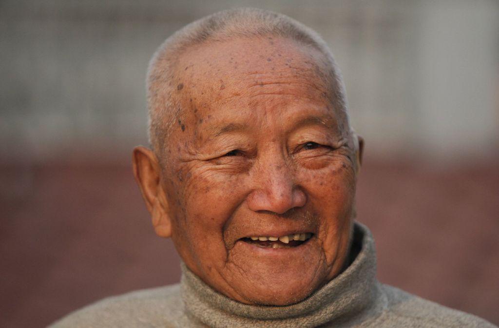 Min Bahadur Sherchan ist im Alter von 85 Jahren gestorben – seinen letzten Traum konnte er sich nicht mehr erfüllen: Der älteste Mann auf dem Mount Everest zu sein. Foto: AP