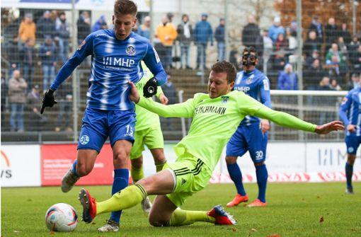 Stuttgarter Kickers im Viertelfinale gegen Ligarivalen