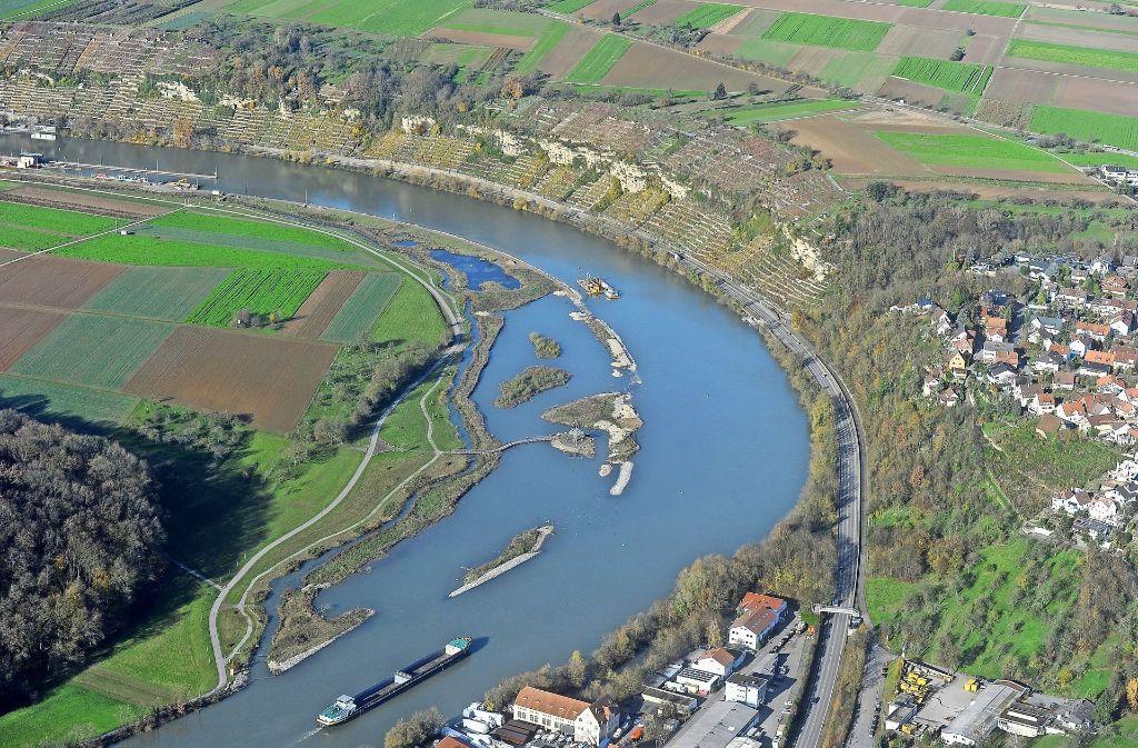 Die Zugwiesen in Ludwigsburg sind entlang des 360 Kilometer langen Neckars eine Ausnahme. Mit  derartigen Rückzugsgebieten könnte sich Foto: Kuhnle
