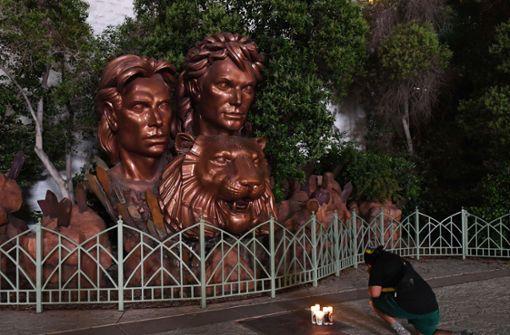 Showwelt und Fans trauern um Roy Horn