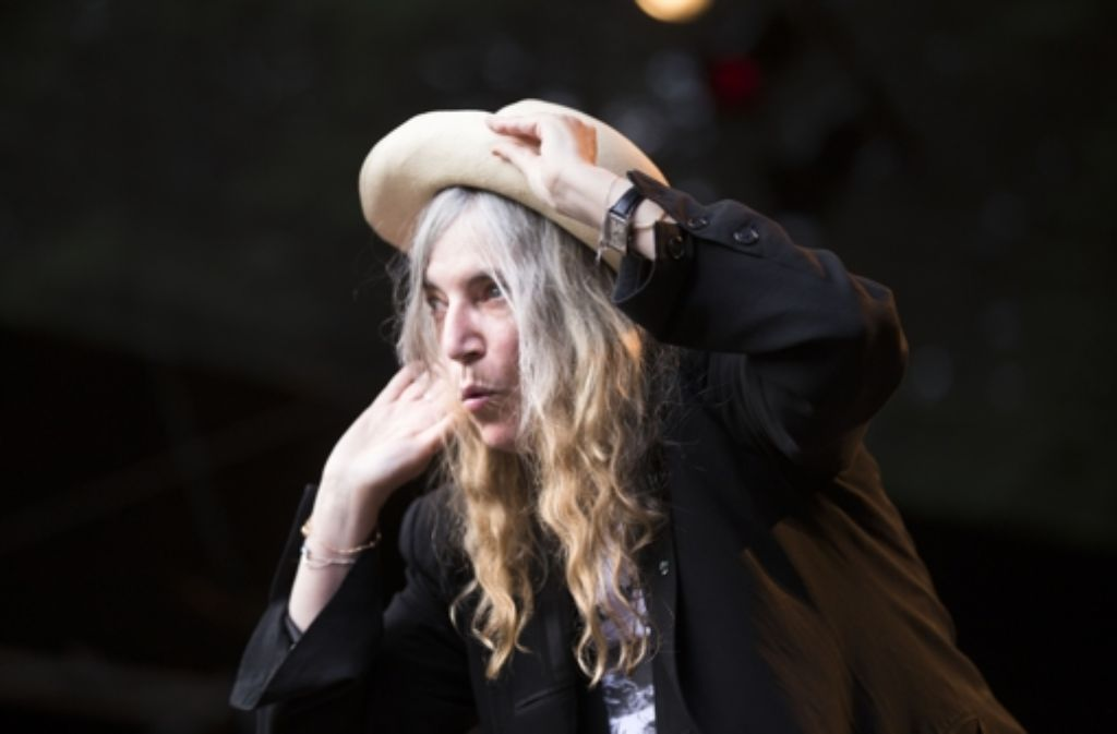 Noch vielschichtiger: Patti Smith vor einem Jahr auf dem Killesberg Foto: Ines Rudel