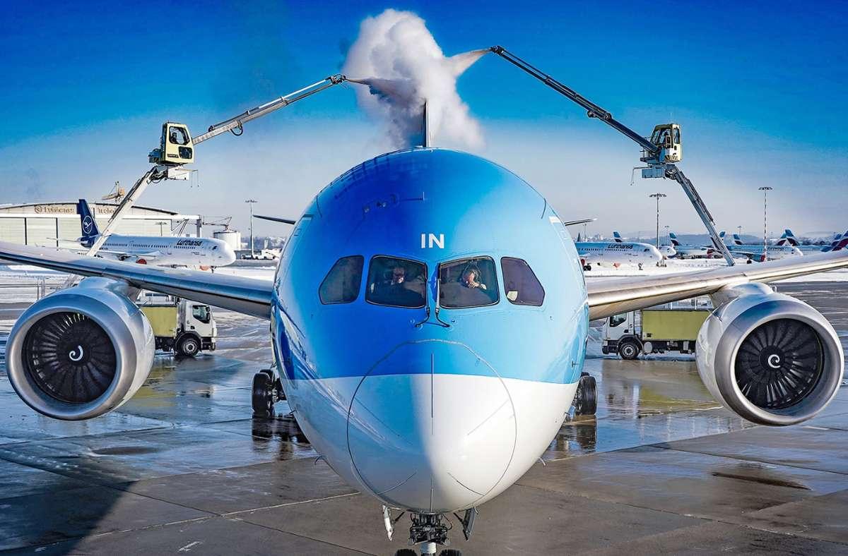 Ein bisschen was geht auch jetzt noch am Flughafen Stuttgart  im Zeichen der Coronapandemie. 2019 wurde noch viel mehr geflogen. Trotzdem gab es weniger Beschwerden wegen Lärmes als zuvor. Foto: Flughafen Stuttgart GmbH