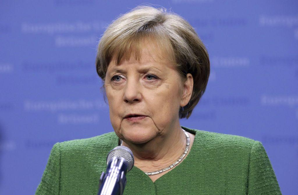 Angela Merkel hat die Mitglieder des neuen Kabinetts bekannt gegeben. Foto: AP
