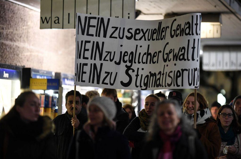 In Freiburg sind viele Menschen auf die Straße gegangen. Foto: dpa