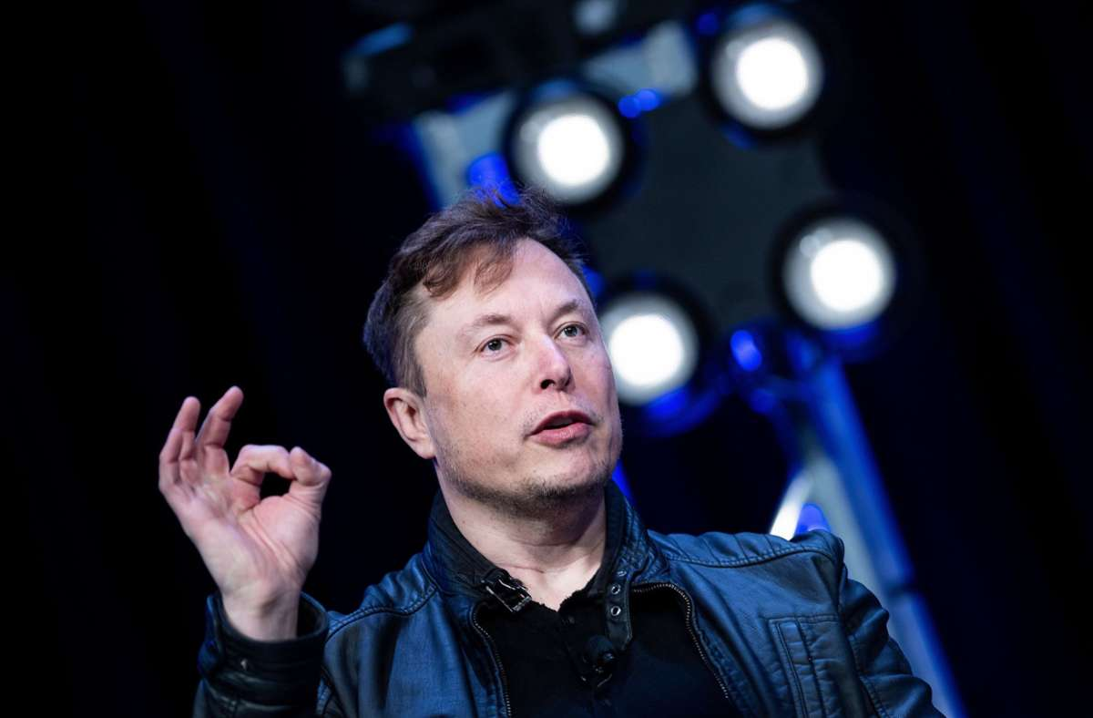 Der Tech-Milliardär Elon Musk kann sich über den fünften Quartalsgewinn in Folge freuen. Foto: AFP/BRENDAN SMIALOWSKI