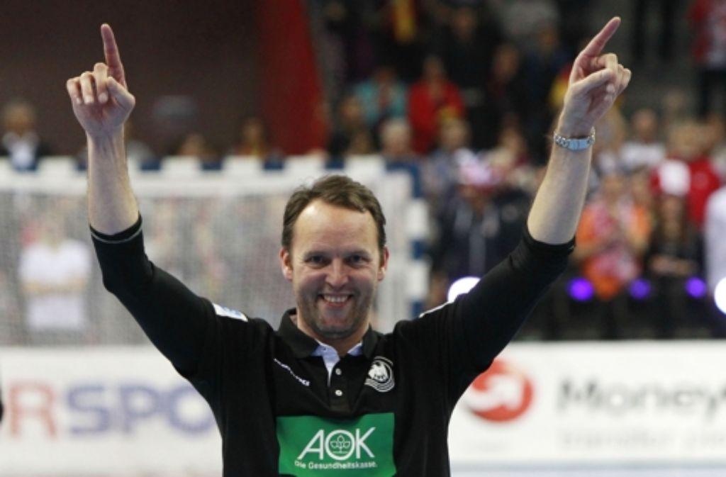 Ein Heißmacher, der immer kühlen Kopf bewahrt: der Handball-Nationaltrainer Dagur Sigurdsson. Foto: AP