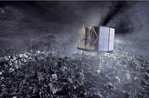 """Roboter """"Philae"""" geht in den ewigen Winterschlaf"""