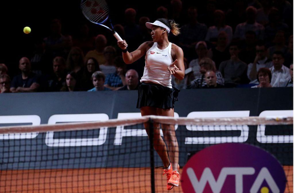 Naomi Osaka und die Weltstars des Frauentennis kommen in diesem Jahr nicht in die Porsche-Arena. Foto: Baumann/Julia Rahn